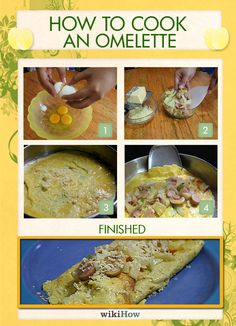 How to Cook an Omelette in 10 Steps