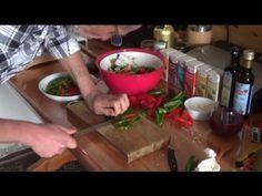 Peperoncini sott'Olio - lino - olive - spezie