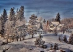 My beautiful Kapuskasing, small l charming town! You gave me so much in so little time! I will miss you !!! Missing the beauty of Canadian winter. Kapuskasing, Ontario, Canada