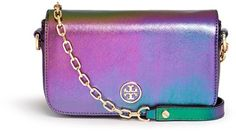 Tory Burch Robinson Hologram Minibag in Multicolor