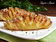Le patate Hasselback sono un piatto superlativo. Possono essere farcite in tanti modi diversi e sono piuttosto semplici da preparare. Successo garantito!
