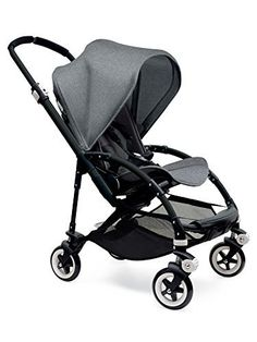 !@  Bugaboo Bee3 Complete with Black Base and Grey Melange Seat by Bugaboo Strollers                                                                                                                                                                                 More