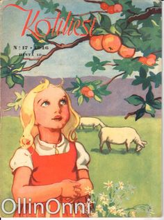 Pretty Drawings, Old Art, Martini, Finland, Vintage Art, Childrens Books, Nostalgia, Princess Zelda, Watercolor
