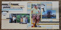 Day at the Park by lovetoteach23, as seen in the Club CK Idea Galleries. #scrapbook #scrapbooking #creatingkeepsakes