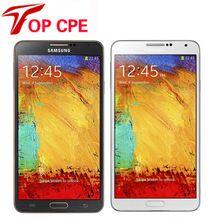 US $151.68 Unlocked Original Samsung Galaxy Note 3 N900 N9005 Mobile phone Quad Core RAM 3GB 13MP WiFi GPS Refurbished 16GB/32GB Phone. Aliexpress product