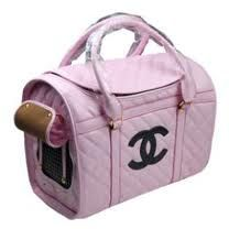 CHANEL DOG TOTE   gccidc02 chanel inspired dog carrier $ 125 00 10 h