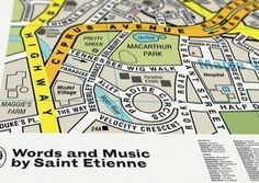 2012 D Annual - 50 covers by 50 designers to celebrate 50 years of D  Dorothy's cover for Saint Etienne's Words and Music album