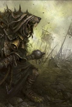 A Plague Priest during the Skaven Civil War.