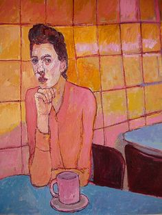 Meirion Alan Ginsberg, Girl in Cafe