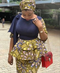 Latest African Fashion Dresses, African Print Dresses, African Dresses For Women, African Print Fashion, African Attire, African Print Dress Designs, Ankara Designs, African Blouses, Ankara Skirt And Blouse