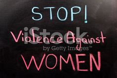 Violence Against Women royalty-free stock photo