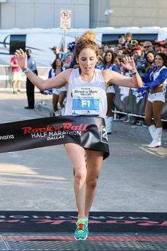 Athletics: Allison Mendez Triumphs in Spectacular Humana Rock 'n' Roll Dallas Half Marathon