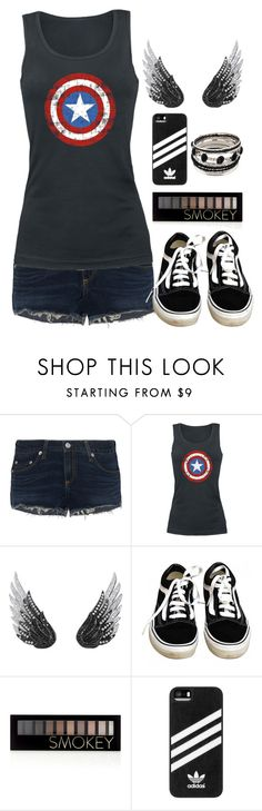 """"""""""" by siara2021 ❤ liked on Polyvore featuring rag & bone, AS29, Vans, Forever 21 and adidas"""