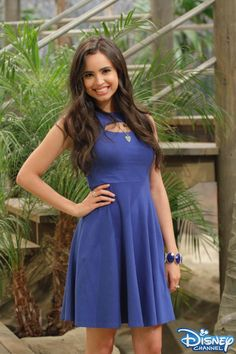 Sofia Carson's first apperance on Austin and Ally.