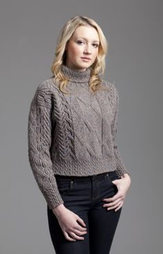 Inishmore, hand knit design by Alice Starmore. One of my favourite knitting projects.