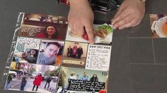 Photo a Day Journal Tip: How to Write Directly on Glossy Pictures