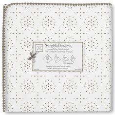 Swaddle Designs Ultimate Receiving Blanket Sterling Sparkler. #laylagrayce #holidaygiftshop #new #forkids $25.00
