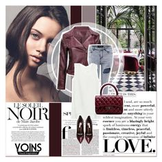 """# VIII/5 Yoins"" by lucky-1990 ❤ liked on Polyvore featuring moda, Marc Jacobs, Casadei, women's clothing, women, female, woman, misses, juniors y yoins"