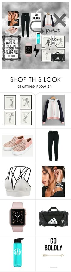 """Sporty"" by yildiz-taslari ❤ liked on Polyvore featuring Pottery Barn, Polo Ralph Lauren, Reebok, NIKE and adidas"