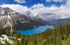 ***Peyto Lake in spring (Banff, Alberta) by Catalin Mitrache on 500px