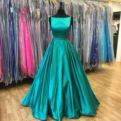 Green+prom+dress,+bateau+prom+dress,+long+prom+dress,+cheap+prom+dress,+evening+dress,+prom+dresses+online,+NDS358  This+long+prom+dress+could+be+custom+made,+there+are+no+extra+cost+to+do+custom+size+and+color.  Description+of+long+prom+dress 1,+Material:+taffeta,+rhinestone,+beads,+elastic...