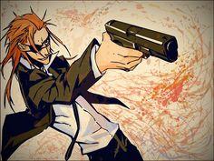Tags: Anime, 1600x1200 Wallpaper, DOGS: Bullets & Carnage, Badou Nails, Miwa Shirow