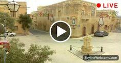 Live from #Gozo, Genaro Square. #Malta #Travel #live #webcam