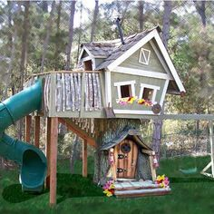 Awesome playhouse!
