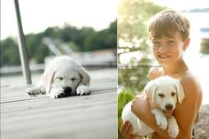 more dog and boy photos