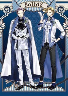 Cool Anime Guys, Cute Anime Boy, Anime Outfits, Boy Outfits, Tsukiuta The Animation, Cute Kawaii Girl, Boy Poses, Anime Costumes, Fashion Design Sketches