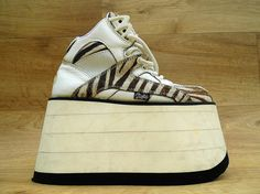 Vintage 90s Buffalo Platform Sneakers  Monster by DalixStudios, £105.00