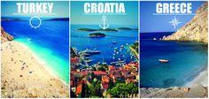 Sail away this summer in #Turkey, #Croatia or #Greece!