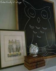 Cute Owl Mantel