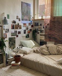 Room Design Bedroom, Room Ideas Bedroom, Bedroom Decor, Indie Room, Cute Room Decor, Pretty Room, Aesthetic Room Decor, Cozy Room, Dream Rooms
