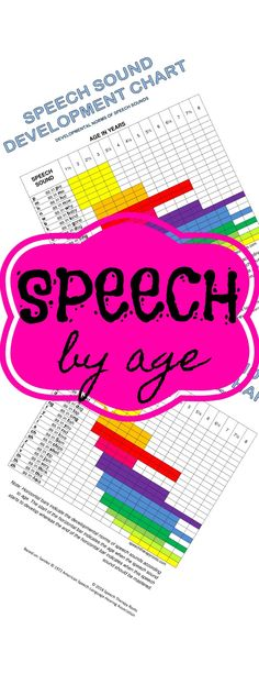 FREE printable Speech Sound Development Chart for ages 1 thru Lisp? No problem! See if this is age appropriate or not. Toddler Speech Activities, Speech Pathology Activities, Articulation Activities, Speech Language Pathology, Speech And Language, Speech Sound Development Chart, Toddler Language Development, Baby Development, Speech Room