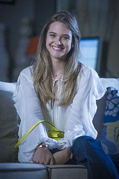'Além do Horizonte': Juliana Paiva fala de personagem e cenas perigosas | Notas TV - Yahoo TV