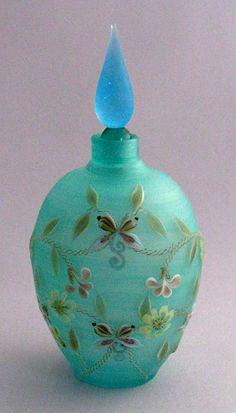 Butterfly perfume bottle by Toru Sato