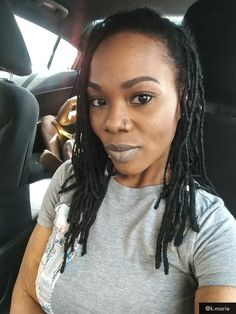 #loclivin #lochead #womenwithlocs #girlswithlocs #locs #urbandecay #kmarie
