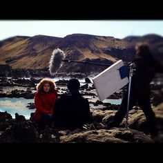 Finland's Next Top Model - behind the scenes, shooting at Blue Lagoon, #Iceland