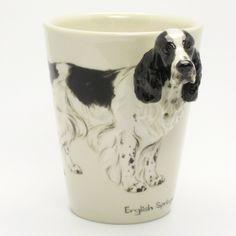 English Springer Spaniel Dog Mug 00004 Original Handmade Collectible.