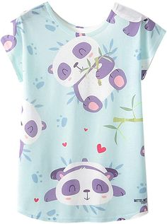 AiguanPanda Eating Bamboo Toddler//Infant Short Sleeve Cotton T Shirts White 46