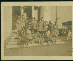 Mardi Gras :: LSU Libraries Postcard Collections- location- New Orleans, 1907- 1917? (Date based on stamp box)Carnival in Manila?