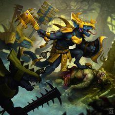 Saurus Old Bloods, par Ricardo Ow #Warhammer #AgeOfSigmar #GamesWorkshop