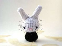 Amigurumi Knit Rabbits Inspired by Famous Horror Flicks #Pop Culture trendhunter.com