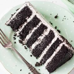 An Oreo lover's dream! Layers of Oreo cake and buttercream with chopped up Oreos for some crunch.