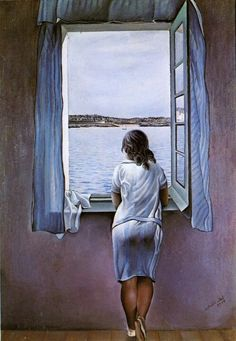 Dali 達利年輕時的名畫,現收藏於馬德里蘇菲亞王妃藝術中心。