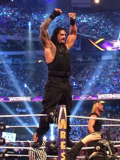 Roman & the shield win!