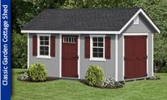 Magnificent Blue Wood Storage Shed 2 Windows With Z Shutters ...   shed   Pinterest   Wood storage Transom windows and Window & Magnificent Blue Wood Storage Shed 2 Windows With Z Shutters ...