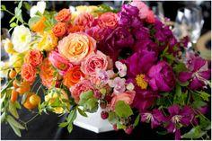 Sinclair & Moore Hanna and Bret Rainbow Wedding  7