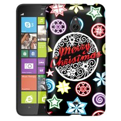 Nokia Lumia 1320 Christmas on Black Slim Case